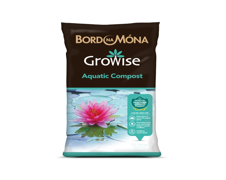 Bord na Mona Aquatic Compost - Growise -10L