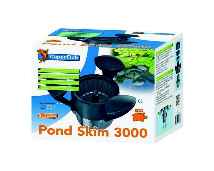 Superfish Pond Skim 3000 - Pond Cleaner
